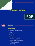 1 Preterm Labor