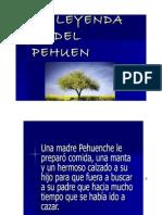 Leyenda Del Pehuen