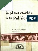 La Implementacion de Las Politicas