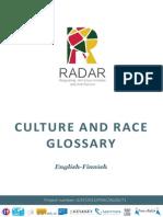 RADAR Glossary Culture and Race