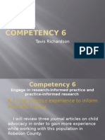 core competency 6 wwb