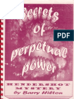 Secrets Of Perpetual Power - Hendershot Mystery by Barry Hilton