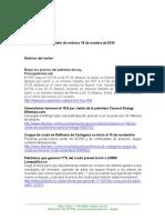 Boletín de Noticias KLR 19OCT2015