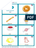 SupEFL Flashcards Food ENGLISH