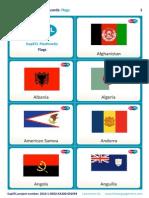 SupEFL Flashcards Flags English