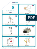 SupEFL Flashcards Health English