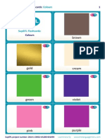 SupEFL Flashcards Colours