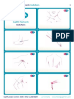 SupEFL Flashcards Body Parts