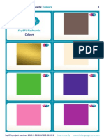 SupEFL Flashcards Colours No Text