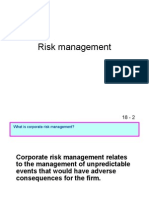 Risk Management by me