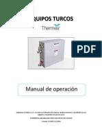 Manual Turco Thermes