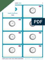 SupEFL Flashcards Clock
