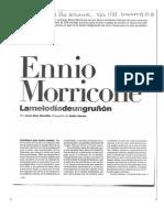 La melodía de un gruñón Ennio Morricone