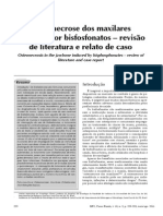 Osteoradionecrose por Bifosfonato