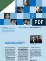 Second Mile 2007 Annual Report