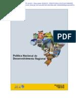 Politica Nacional de Desenvolvimento Regional_em Vigor_documento Integral