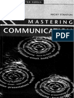 Mastering Communication - Nicky Stanton