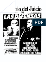 El Diario Del Juicio N° 20