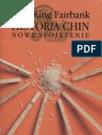 Historia Chin. Nowe Spojrzenie, J.K. Fairbank