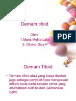 179448647 Demam Tifoid Ppt