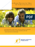 Big Brothers & Big Sisters White Paper