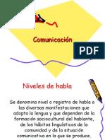 Comunicación Registros/Niveles