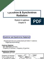 Cyclotron & Synchtrotron