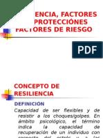 Resiliencia - Factores de Riesgos y Factores Protectores