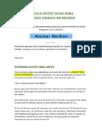 Neobux - 5 Excelentes Dicas Para Aumentar Seus Ganhos No Neobux