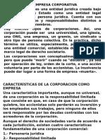 Finanzas Corporativas(La Empresa Corporativa)