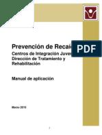Manual Prevencion Recaidas