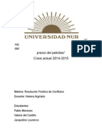 Informe Crisis Petroleo 2014 - 2015
