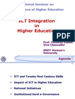 Prof. Vasudha Kamat ICT Integration in Higher Education