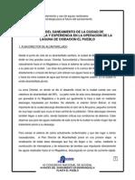 AVANCE DEL SANEAMIENTO DE LA CIUDAD DE BARRANQUILLA