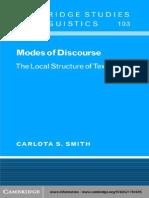 Modes of Discourse