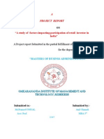 Anil Chamoli Project Report MBA