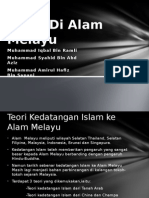 Kedatangan Islam Ke Alam Melayu