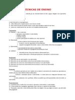 TÉCNICAS DE ENSINO.doc