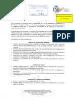 Jornadas Técnicas para la actualización de técnicos en Salvamento y Socorrismo 2015