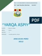 YARQA ASPIY - Para Combinar