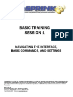 Basic Training - Session No. 1