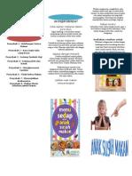 Leaflet Anak Susah Makan