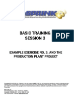 Basic Training - Session No. 3