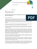 Carta Pública CONPAZ Acuerdo sobre UBPD