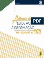 Aplicação da Lei de Acesso à Informação em Recursos à CGU