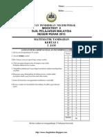 Spm Trial 2015 Addmaths Qa Perak