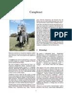 Cataphract cavalry