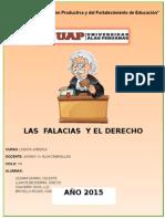 Trabajo de Logica Juridica- Las Falacias