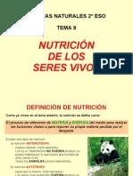 Función de Nutrición