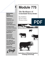UMAP 1999 Vol. 20 No. 1 Aticle the Resilience of Grassland Ecosystems